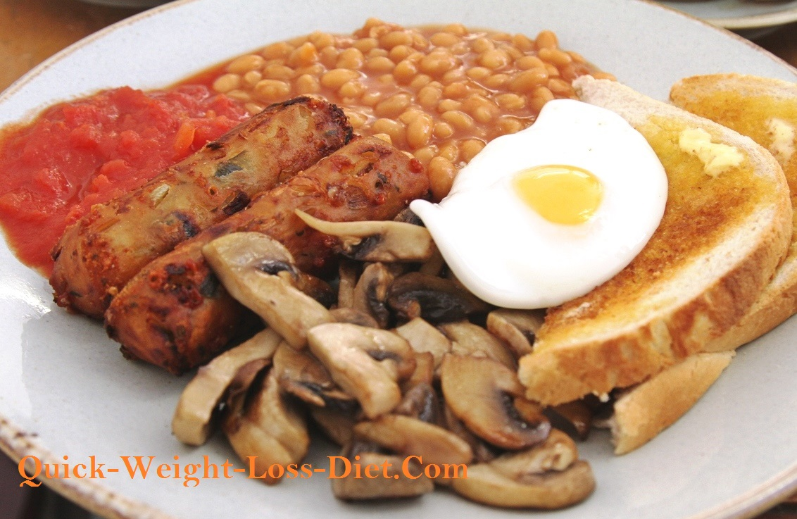Vegetarian_sausage_breakfast